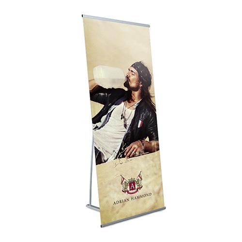 Eco L-banner 75 x 200 cm.