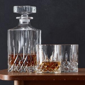 Lounge whiskysæt 3 dele