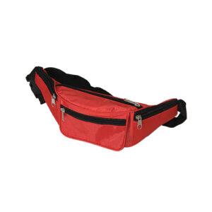 Bæltetaske med 4 lommer