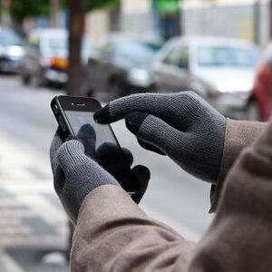 Touch screen vanter