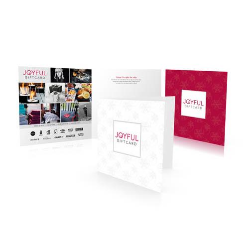 Joyful Giftcard - Danmarks bedste gavekort