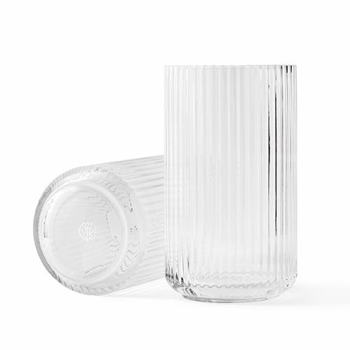 Lyngbyvasen glas klar