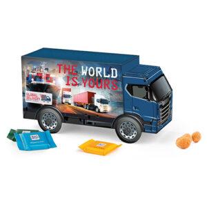 Lastbil gaveæske med slik