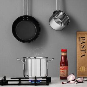 Eva Trio rustfrit stål startersæt