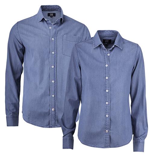 Cutter & Buck Ellensburg Denim Shirt