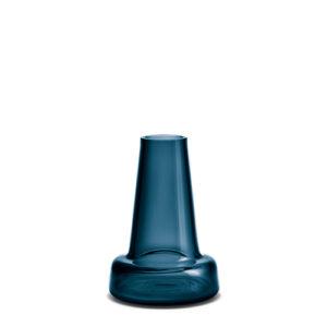 Flora vase lang hals blå