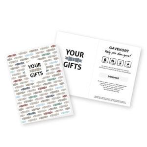 Your Gifts gavekort - Gaver til alle
