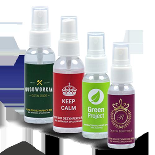 Antibacterial hånd spray