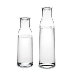 Minima flaske med låg