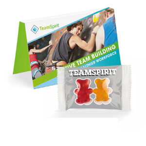 Team bamser i promotion card